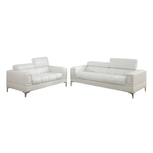 Lydia 2 Piece Living Room Set by Wade Logan