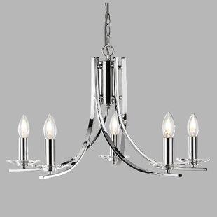 Chetek 5 Light Candle Style Chandelier