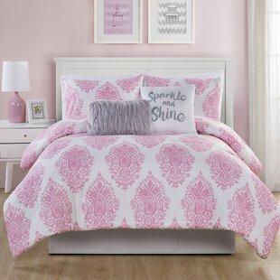 Harriet Bee Bautista 4 Piece Reversible Comforter Set