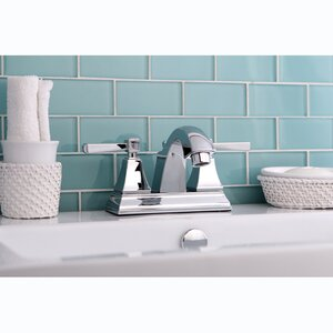 Monarch Centerset Bathroom Faucet with Pop-Up Drain