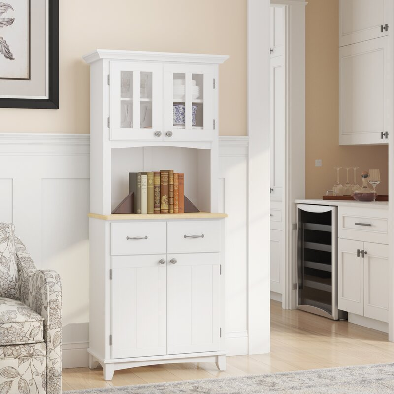 Wayfair Kitchen Cabinets Andover Mills™ Presswood Dining Hutch & Reviews | Wayfair