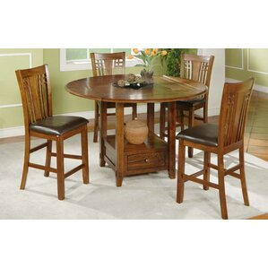 Schueller 5 Piece Dining Set by Darby Home Co