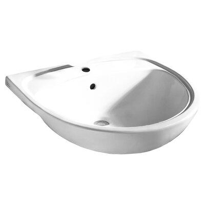 American Standard Mezzo Ceramic Circular Drop In Bathroom Sink