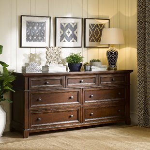 Montclair 7 Drawer Double Dresser