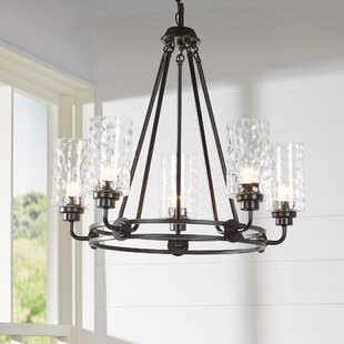 Laurel Foundry Modern Farmhouse Westhope 5-Light Shaded Chandelier