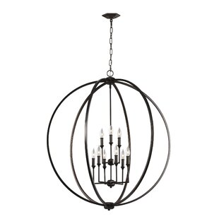 Best Reviews Casteel 9-Light Globe Chandelier By Gracie Oaks