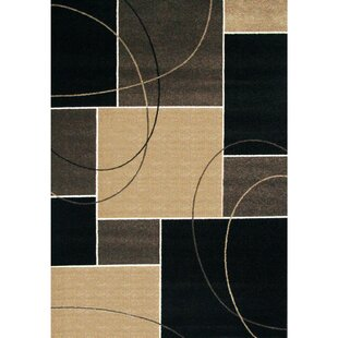 Ockton Black/Gray/Beige Indoor/Outdoor Area Rug ByOrren Ellis