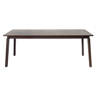 Aviva Wooden Dining Table by Bay Isle Home 2019 Coupon