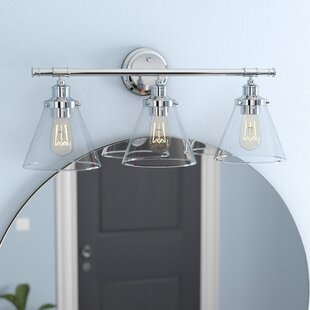 Bathroom vanity lighting youll love wayfair kendrick 5 piece 3 light vanity light set aloadofball Gallery