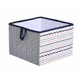 Reviews Asya Fabric Storage Cube and Bin ByHarriet Bee