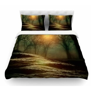 From Small Beginnings and Big by Viviana Gonzalez Nature Featherweight Duvet Cover