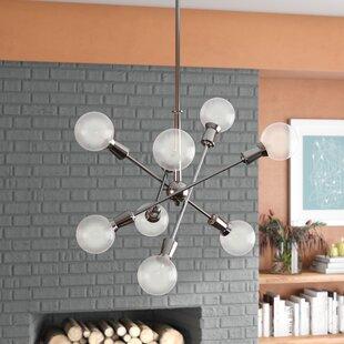 Antique Kitchen Lighting Vintage kitchen lighting wayfair lexington 8 light sputnik chandelier workwithnaturefo
