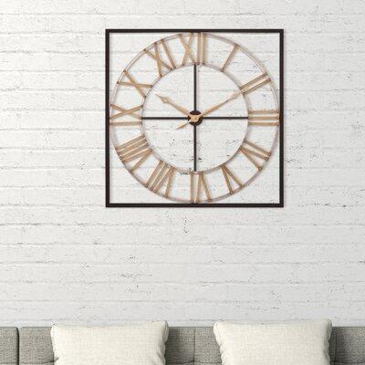 Metal Square Wall Clocks You Ll Love In 2020 Wayfair