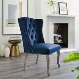 Mccafferty Tufted Velvet Upholstered Side Dining Chair by House of Hampton®