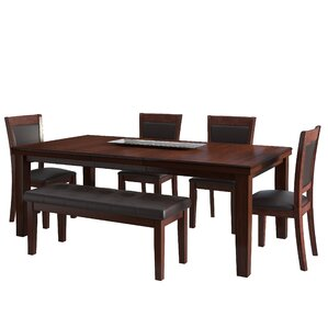 Edgecomb 6 Piece Dining Set by Red Barrel Studio