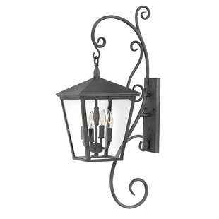 Buying Trellis 4-Light Outdoor Wall Lantern By Hinkley Lighting