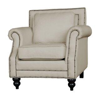 Alcott Hill Herrell Traditional Upholstered Armchair