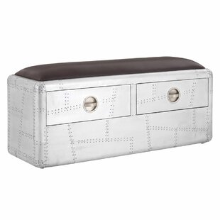 Read Reviews Marcellus Metal Storage Bedroom Bench