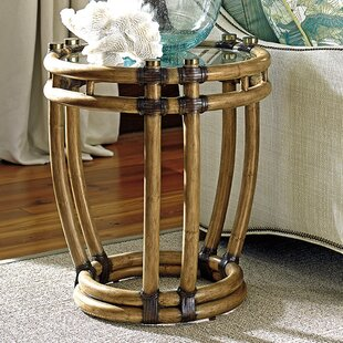 Twin Palms End Table by Tommy Bahama Home