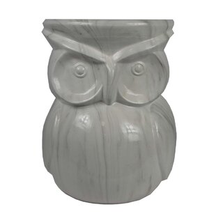 Dichiera Owl Garden Stool by August Grove