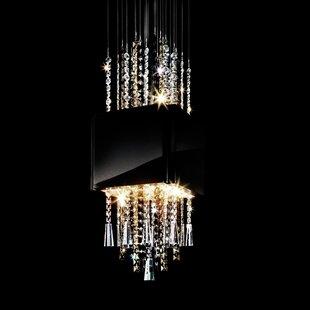 Casino Royal 8-Light Crystal Pendant by Swarovski