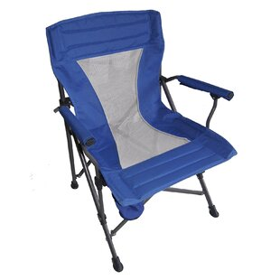 ORE Furniture Portable Folding Camping Chair with Cushion