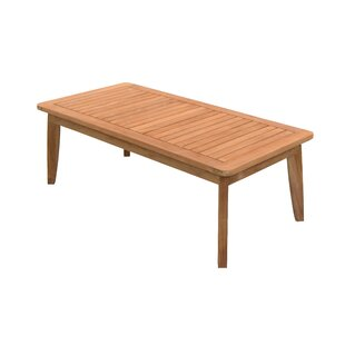 Alviso Teak Coffee Table by Union Rustic Great price