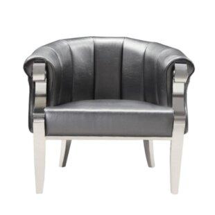 Trevino Barrel Chair by Rosdorf Park