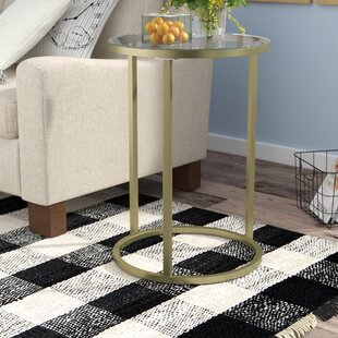 Gracie Oaks Haddon Heights Contemporary End Table