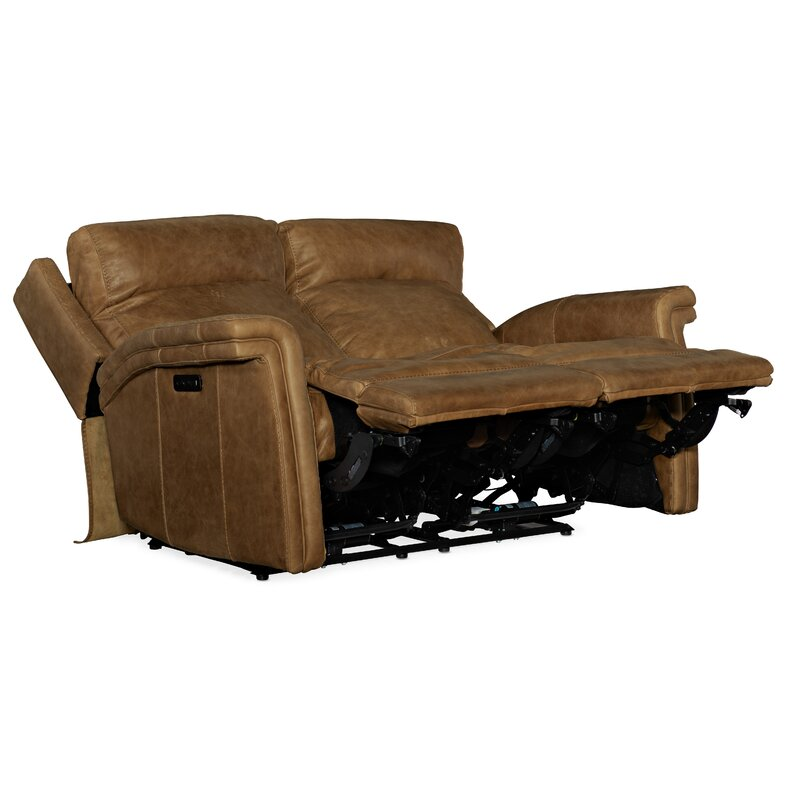 Hooker Furniture Poise Leather Reclining Loveseat Wayfair