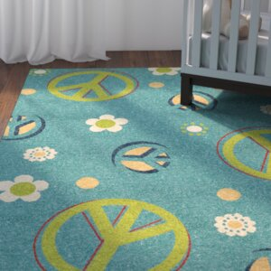 Lakisha Blue/Green Area Rug