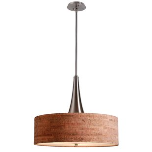 Modern and contemporary chandeliers allmodern haugland 3 light drum chandelier aloadofball Images
