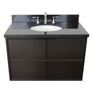 Hawridge 37 Wall-Mounted Single Bathroom Vanity Set by Gracie Oaks