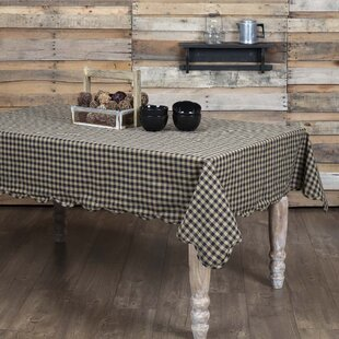 Heidi Scalloped Cotton Tablecloth
