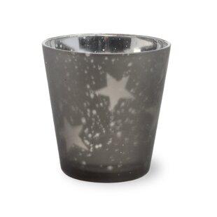Star Glass Tealight Holder