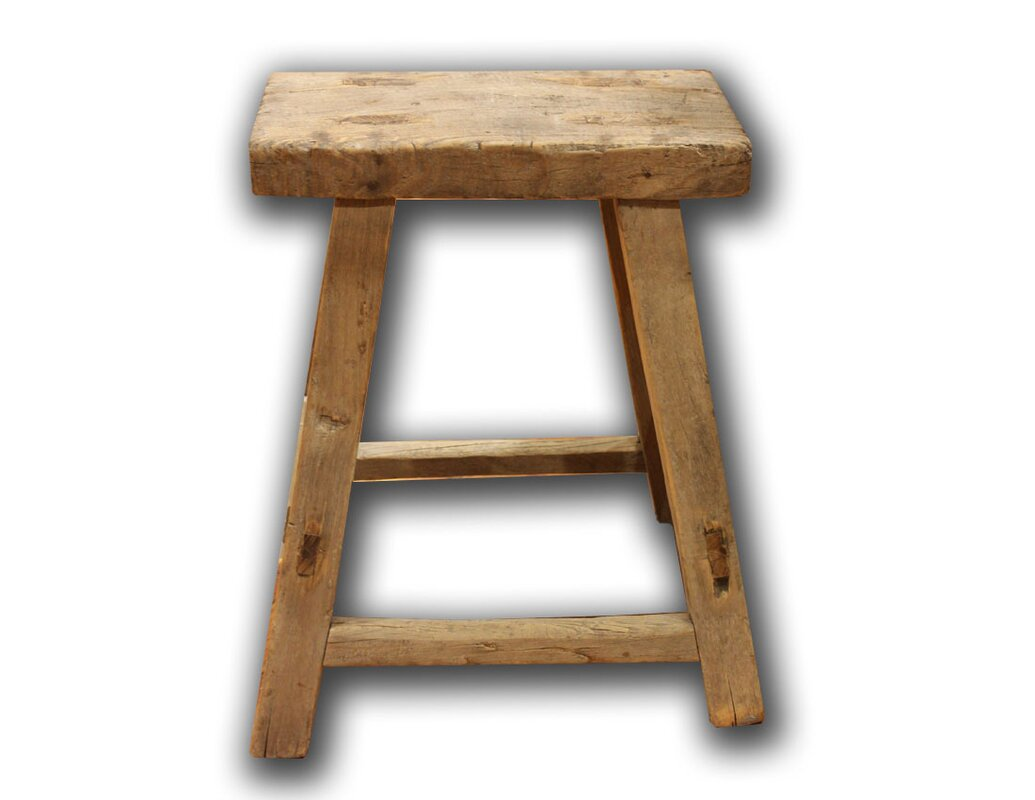 Elm Accent Stool