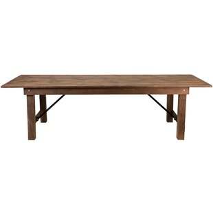 Escarcega 108u0027u0027 Rectangular Folding Table