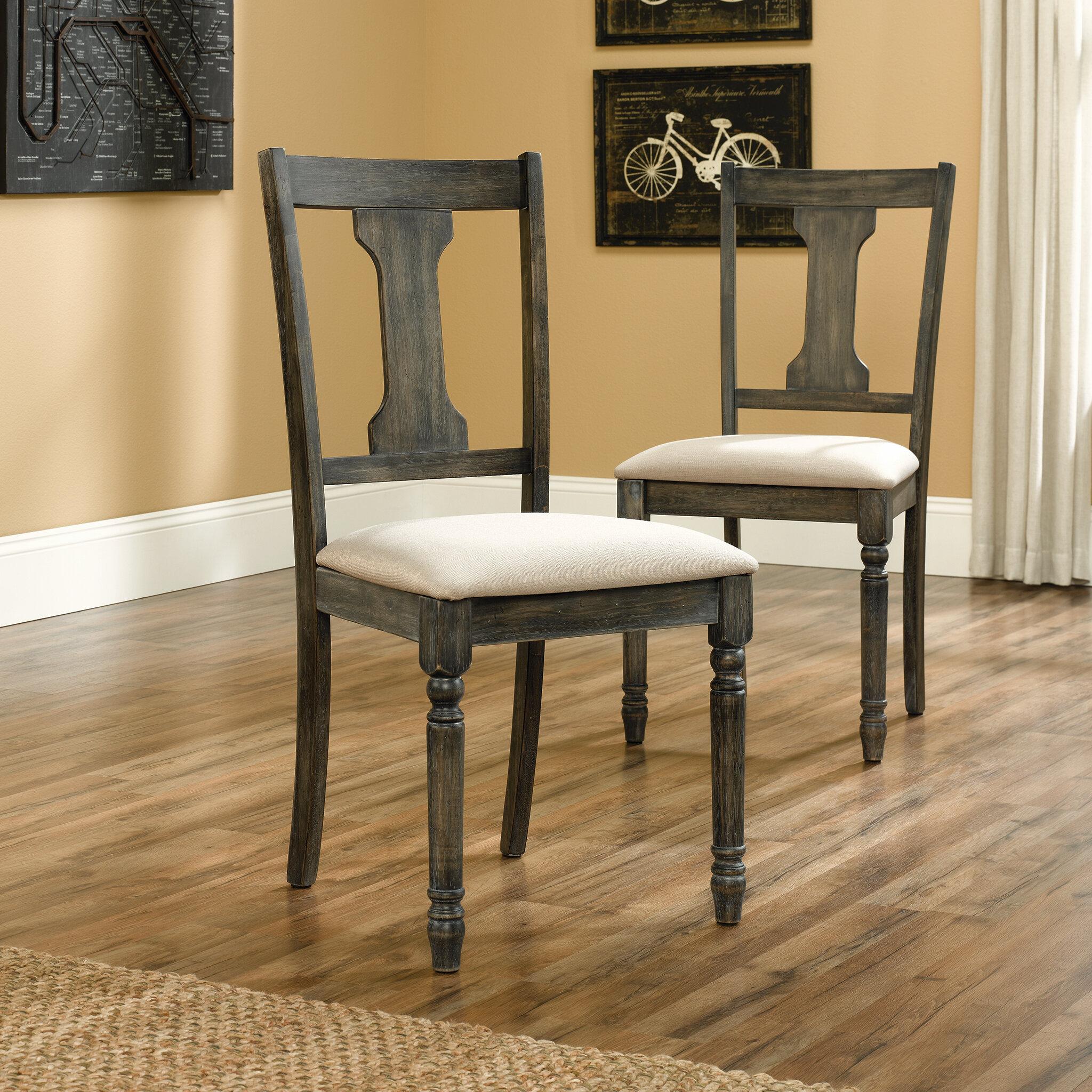 Stupendous August Grove Brie Upholstered Dining Chair Inzonedesignstudio Interior Chair Design Inzonedesignstudiocom