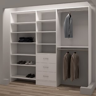 Compare Demure Design 93W Closet System By TidySquares Inc.