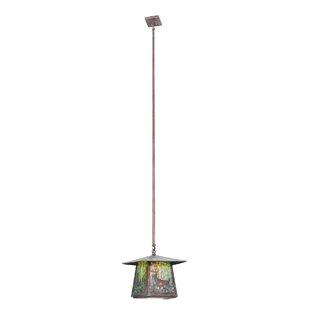 Meyda Tiffany Stillwater Deer Creek 1-Light Lantern Pendant