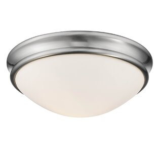 Winston Porter Alaric 2-Light Flush Mount