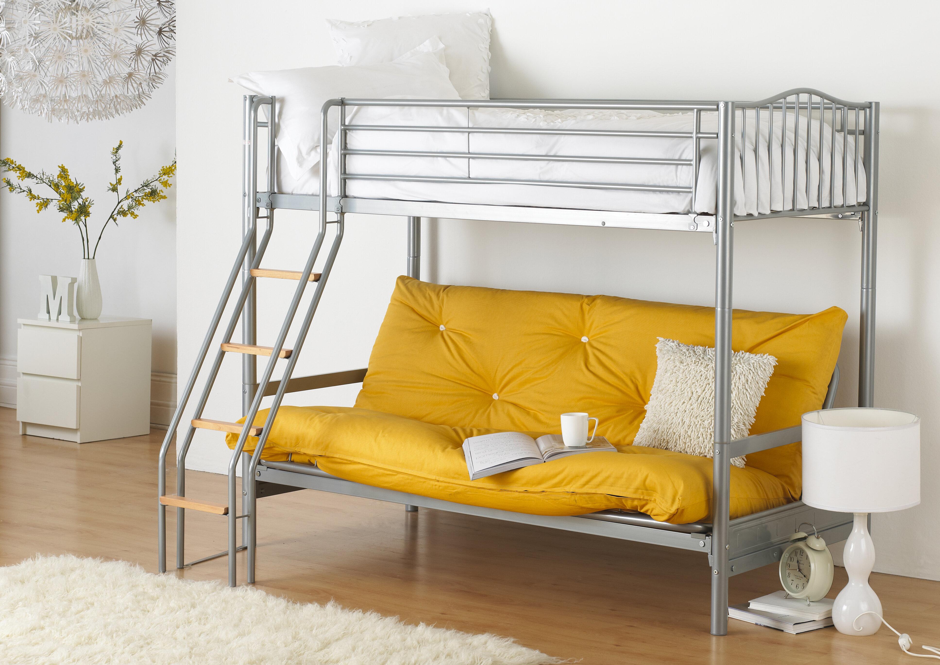 Etagenbett Wayfair : Just kids futon etagenbett halkyn wayfair