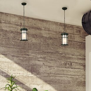 Compare prices Drane 1-Light Hanging Lantern By Canora Grey