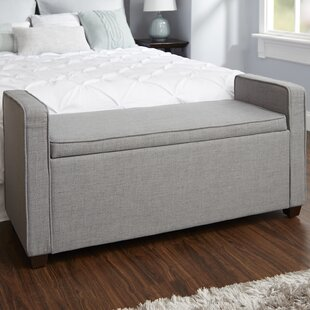 Chevalier Upholstered Storage Bench by Darby Home Co