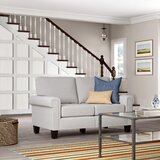 Matos 61 Square Arm Loveseat by Andover Mills™