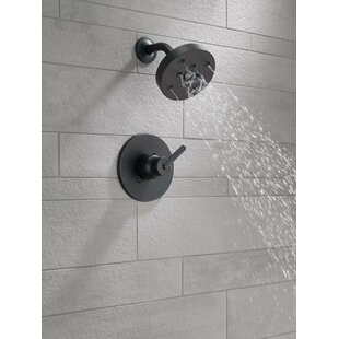 Trinsic® Thermostatic Shower Faucet with Trim and H2okinetic Technology by Delta