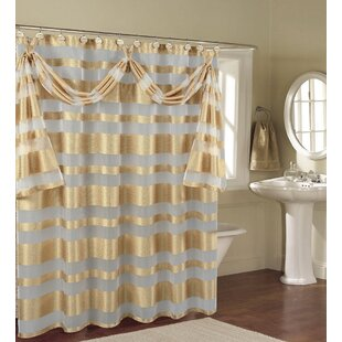 Enciso Decorative Shower Curtain By Winston Porter