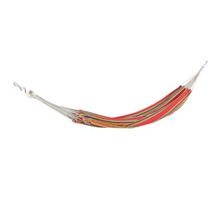 Matt Striped Woven Cotton Brazilian Tree Hammock