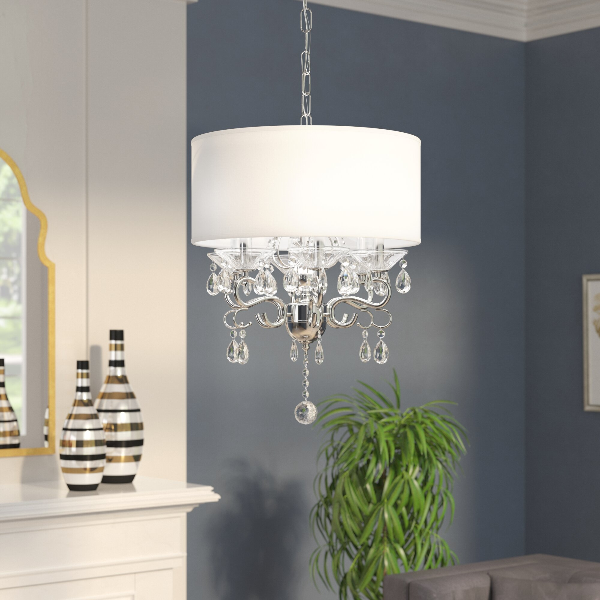 House of hampton emely 6 light chandelier reviews wayfair