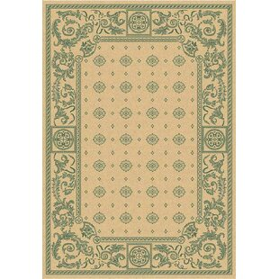 Reviews Courtyard Natural / Green Rug CY1356-3501 By Safavieh